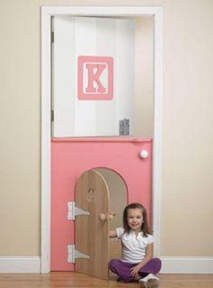 mini porte | bricolage | Pinterest | Decoration porte, Portes et ...