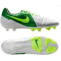 Mens Soccer Cleats Nike CTR360 Maestri III ACC FG Firm Ground Soccer Cleats  White Volt Green 47231082aed35