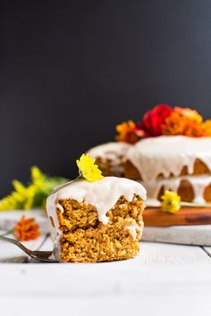 easy 1 bowl pumpkin cake vegan gluten free and incredibly flavorful tender and perfect for fall pumpkin cakes