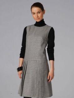 Burda Pinafore Dress