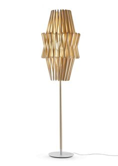 Big Double Stick Floor Lamp