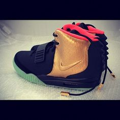 """The Nike Air Yeezy 2 """"Imperial"""" By PMK Customs"""