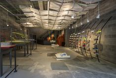 Nike Concept Store from recycled materials