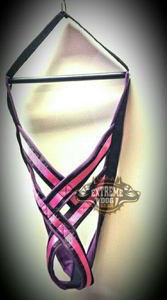 WEIGHTPULL HARNESS  PURPLE & PINK