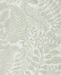 Add a natural print to your walls. This botanical wallpaper combines a medley of leaves for an intricate print. A beige background and green surface print make for a timeless look. Plant Wallpaper, Botanical Wallpaper, Green Wallpaper, Home Wallpaper, Wallpaper Roll, Pattern Wallpaper, Bathroom Wallpaper Gold, Farmhouse Wallpaper, Hallway Wallpaper