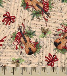 Holiday Inspirations Fabric- Susan Winget Cmas Serenade