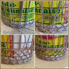 GoldenerWidder | ВКонтакте Newspaper Basket, Newspaper Crafts, How To Make Rope, Paper Jewelry, Handmade Bags, Diy Paper, Basket Weaving, Wicker Baskets, Diy And Crafts