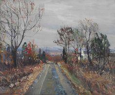 The Lane, Walter Emerson Baum. English (1884 - 1956)