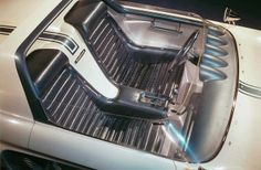1962 Mustang cockpit