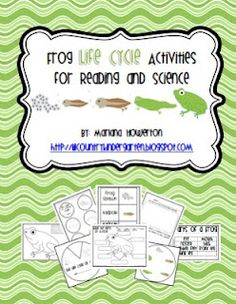*Lil Country Kindergarten*: Frog Life Cycle Activities for Reading and Science