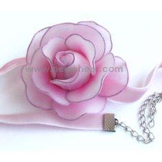 HT make nylon stocking flowers