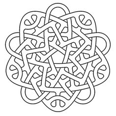 penta celtic knotwork