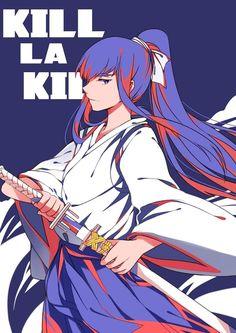 Kill La Kill, Comics Illustration, Illustrations, Mai Waifu, Satsuki Kiryuin, Akame Ga Kill, Gurren Lagann, Hisoka, Fan Art