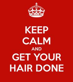 hair done