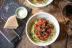 Dust off that spiralizer, people. This simple vegan (and GF) Bolognese is a game changer.