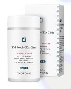 CICA Clinic Centella Dressing Powder 6g spot treatment trouble care TOSOWOONG #TOSOWOONG