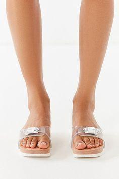 9193ef7c118546 Slide View  4  Dr. Scholl s X UO Original Sandal Wooden Sandals