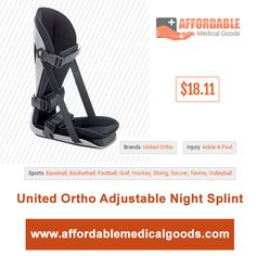Comfortable, Lightweight, Brands – United Ortho, Simple to Apply, Easily Adjustable and Affordable Price.Click https://goo.gl/J7uHUW for more detail.