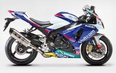 Suzuki is building 25 World Superbike replica R1000's in full Voltcom Crescent Suzuki livery to be on sale soon.  nine4eight