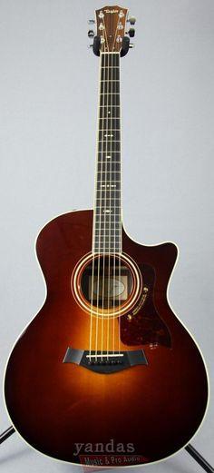 Taylor 714CE Grand Auditorium Cutaway Acoustic Electric Guitar #beautifulguitars