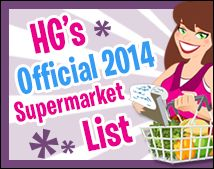 Hungry Girl's 2014 Supermarket List! Must PIN!