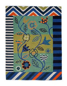 """Mosaik"" rug in cotton – Theme Norway – GUDRUN SJÖDÉN – Webshop, mail order and boutiques 