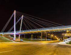 Markey Suspension Bridge - A New Cable Stayed Landmark