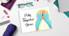 These Polly Fingerless Gloves are the perfect accessory to keep your hands warm in a forever-cold office or a springtime cold snap. Created in a lovely lace-like offset grit stitch, you can dress them up with a crystal button or keep them casual with your favorite leather product tag. Either way, they're going to be a hit! Double Crochet, Single Crochet, Crochet Fingerless Gloves Free Pattern, Print Patterns, Crochet Patterns, Love Design, Hand Warmers, Crochet Hooks, Pdf