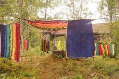 formingsideer » fantasifantasten.no - inspirasjon til alle som jobber med barn Land Art, Tapestry, Barn, Crafts, Inspiration, Outdoors, Home Decor, Hanging Tapestry, Biblical Inspiration