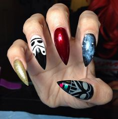The force will always be with you with these Star Wars nails.