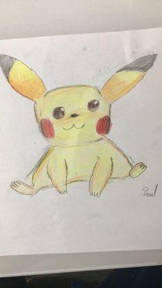 Pickacu Pokemon drawing 😁