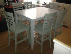 Pub Dining Table Makeover