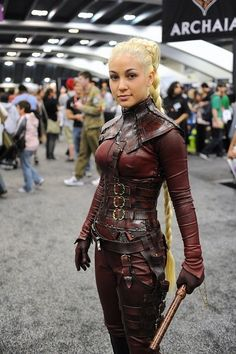 Mord-Sith outfit from Wondercon