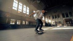 STATIONPARK – Juan Rayos films Kilian Martin Skateboarding in a Station Park in Spain (Clip)