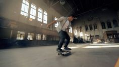 STATIONPARK – Juan Rayos films Kilian Martin Skateboarding in a Station Park in Spain (Clip)