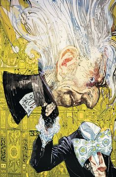 The Mad Hatter by Bill Sienkiewicz
