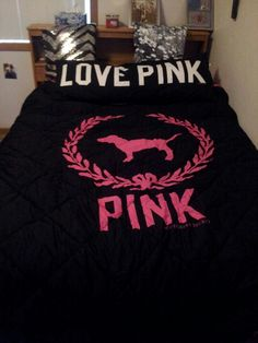 Love This PINK Bed Set!
