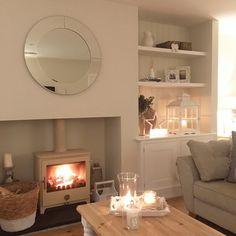Evening lovelies, It's gone chilly again here so the perfect excuse for candles and snuggling up! Parents evening for us this afternoon, feeling proud Now time to get some dinner cooking! Speak soon lovelies #lounge #logburner #livingroom #livingroomdecor #livingroominspo #livingroomdecor #livingroominterior #chillipenguin #alcoves #logbasket #inspohome #homegoals #homewares #interior125 #homeideas #homestyle #ourhome #ourlovelyhome #ourluxuryhome