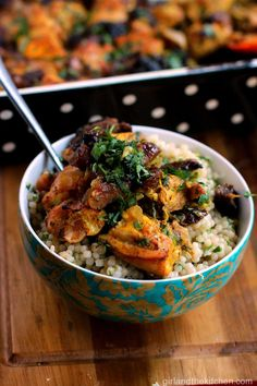 Moroccan Chicken from the Girl and the Kitchen