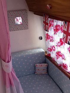 Cath Kidstonesque Caravan Interior by Chic-Rustique, via Flickr