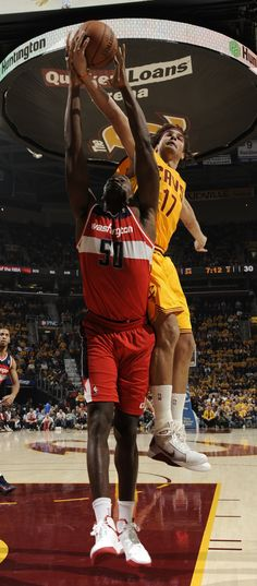 Check out our Photo of the Game from October 30, 2012: Center Anderson Varejao helped lead the Cavs to victory with 9 points, 23 rebounds and 9 assists against the Washington Wizards at Quicken Loans Arena in Cleveland, Ohio. Photo courtesy of David Liam Kyle / NBAE via Getty Images. Check out more photos from the game: http://www.nba.com/cavaliers/photogallery/121030-wascle