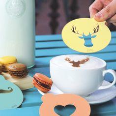 Pochoirs pour Café (x3)