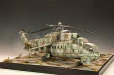 Mil Mi-24 1/35 Scale Model