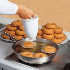 You search For donuts maker . showing the result of donuts maker . donuts maker are here to make a perfect donuts for your loved once . this donuts maker is high quality product and it is very cheap in cost . Donut Recipes, Baking Recipes, Dessert Recipes, Baking Desserts, Cake Baking, Salad Recipes, Delicious Donuts, Yummy Food, Waffle