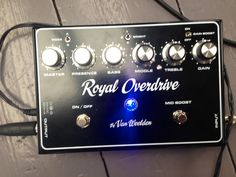 The best distortion/ preamp in the world. Developed by Peter van Weelden with some help of Joe Bonamassa