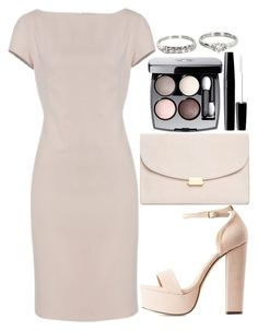 """""""Untitled#1532"""" by mihai-theodora ❤ liked on Polyvore featuring Charlotte Russe, Mansur Gavriel, Chanel and Vintage"""