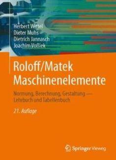 Roloff/Matek Maschinenelemente 21 Auflage