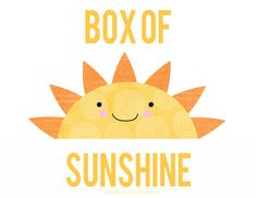 Box of Sunshine: Gift to Brighten a Day