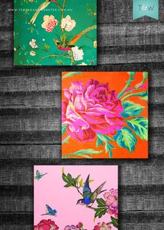 Anna Chandler Design have given us some instructions on how to hang the gorgeous colourful art tiles
