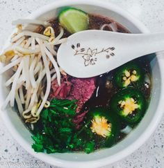 The Best Slow Cooker Pho From Lucky Peach Cookbook packs so much flavor, is so easy to make, and super healthy! Perfect soup for the cool weather!